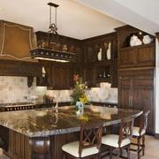 大户型别墅美式厨房