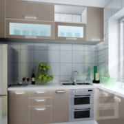 日式简单舒适型厨房