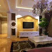 简欧式风格客厅图片