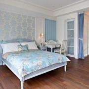 轻快自然的卧室