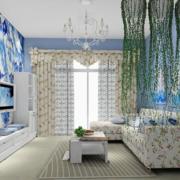 超级浪漫的客厅图片