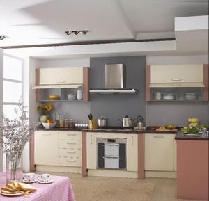 开放式厨房一字型橱柜