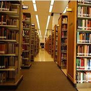 温馨图书管走廊展示