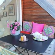 复式楼阳台舒适沙发椅