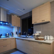 实木简约型小厨房