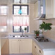 厨房木地板装修图片