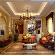 精致优美别墅客厅