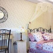 美式田园卧室壁纸