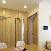 客厅生态木隐形门