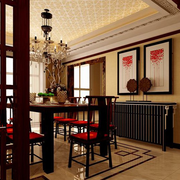 精致中式餐厅欣赏