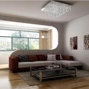 简洁白色客厅欣赏