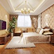 卧室木地板设计图片