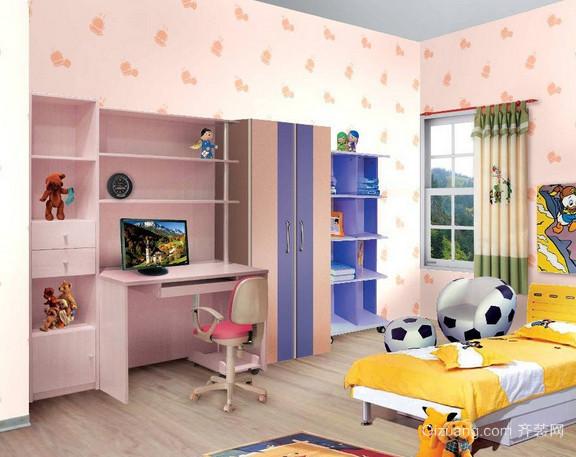 三室两厅两卫儿童房液体壁纸装修效果图