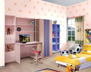 彩色温馨的儿童房
