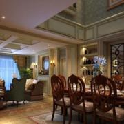 别墅豪华大餐厅