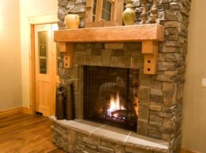 美式别墅壁炉装修效果图