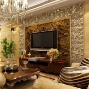 豪华别墅客厅装潢