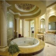 别墅简欧式洗手间