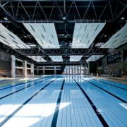 大型游泳池效果图