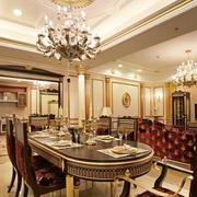 大户型欧式家居餐厅