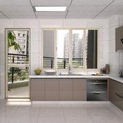 灰色调厨房装修图片