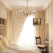 米白色的卧室欣赏
