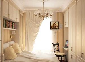 简约清新小女生卧室床头背景墙效果图2015新款系列