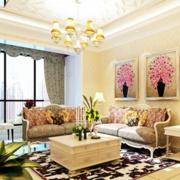 客厅沙发背景装饰画