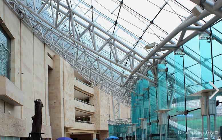 现代都市精致明框玻璃幕墙图集