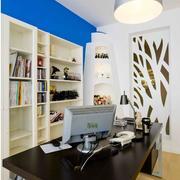 大户型书房书桌