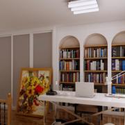 开放式书房展示