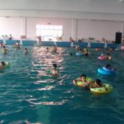 大容量游泳池效果图