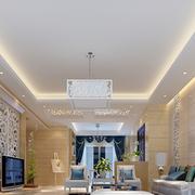 白色时髦客厅欣赏