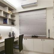 书房白色简约书柜