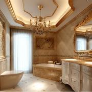 欧式大户型别墅卫生间