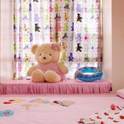 粉色精致小飘窗