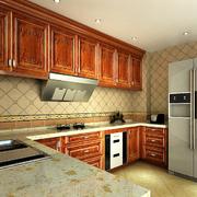 厨房实木橱柜展示