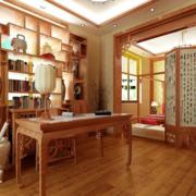 书房木地板效果图片