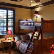 美式儿童房双层床欣赏