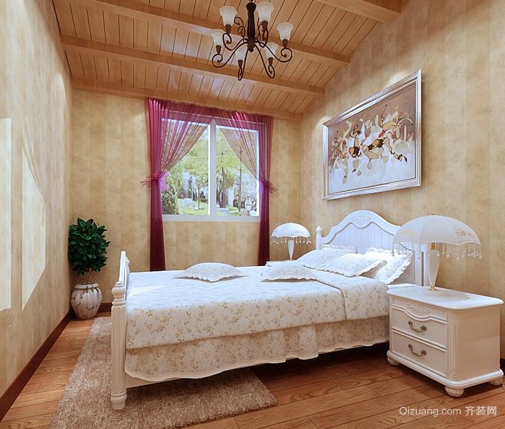 美丽花园三居室田园风格儿童房设计装修效果图