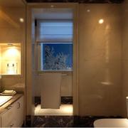 别墅家居实用洗手间