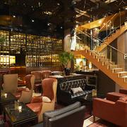 餐厅楼梯展示