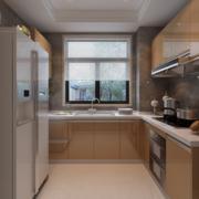 厨房黄色精巧橱柜