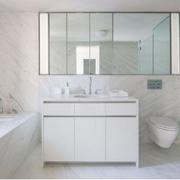 白色调浴室装修大全