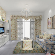 单身小公寓客厅