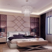 紫色浪漫卧室欣赏