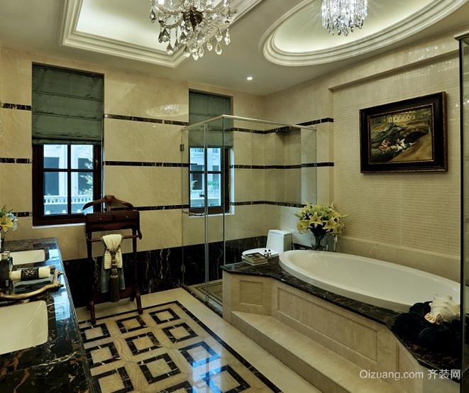 两室一厅欧式卫生间装修效果图