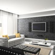 客厅液体壁纸电视背景墙