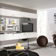 客厅背景墙组合电视柜