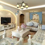 清新自然的家居客厅